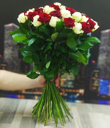 Букет из 25 розы