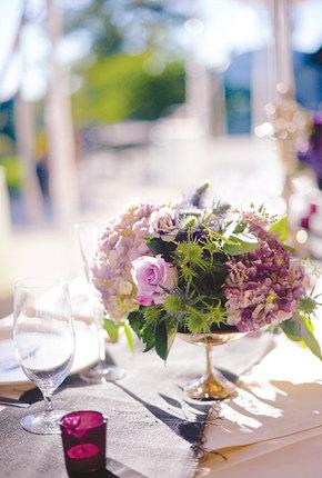 Цветы на фуршетный стол